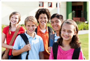 stock-photo-17733361-children-standing-outside-school-with-bookbags-300x199